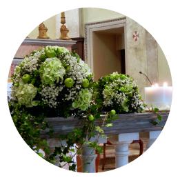 I fiori per il tuo matrimonio a Torino Chiesa