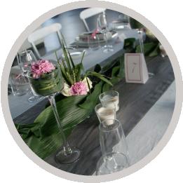 I fiori per il tuo matrimonio a Torino Ristorante